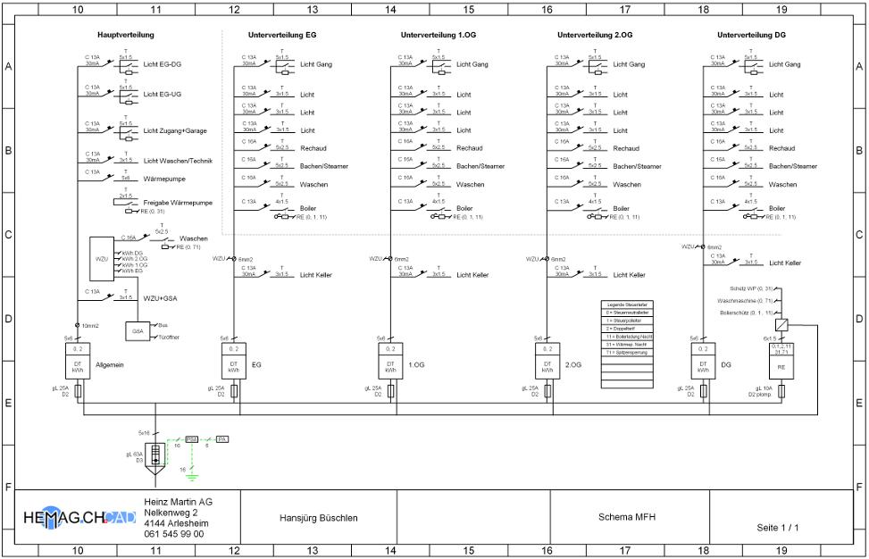 Grundrisse Zeichnen Cad : ElektroCAD InstallationsplanCAD StromlaufplanCAD Grundriss zeichnen
